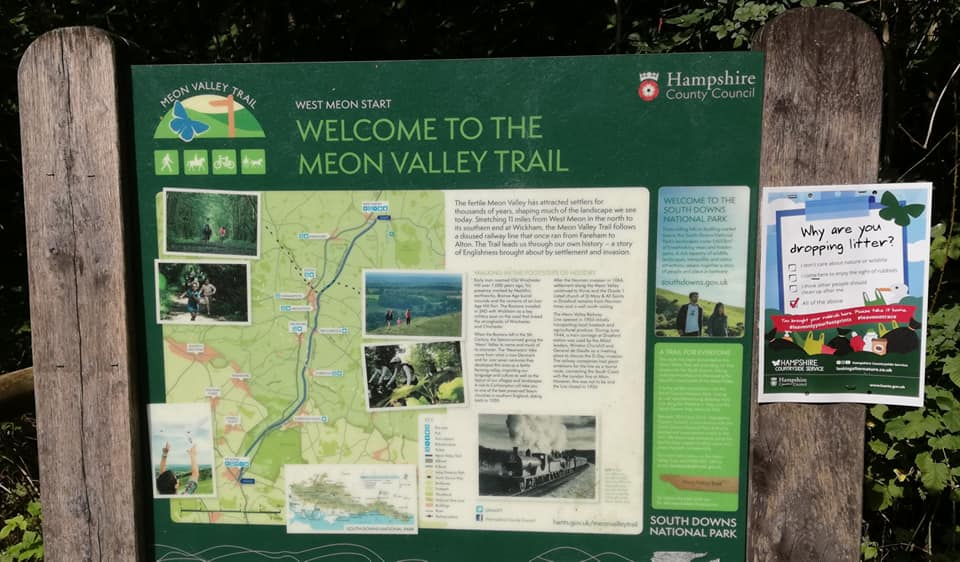 Welcome to the Meon Valley Trail.